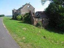 Verlassene Gebäude am Oder-Neiße Radweg