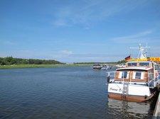 Der Hafen im Ostseebad Prerow